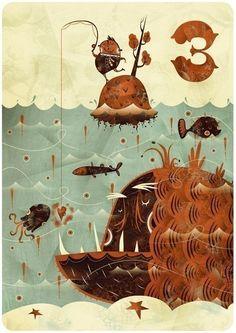 Tres   Alberto Cerriteño   Illustrator • Animator • Director