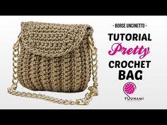 Crochet Handbags, Crochet Purses, Purse Patterns, Crochet Patterns, Crochet Christmas Gifts, Tsunami, Knitted Bags, Clutch Purse, Mini Bag