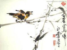 Chinees schilderij - achtergronden, #3568
