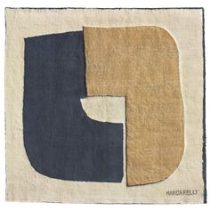 Conrad Marca-Relli tapestry USA, c. 1975 hand-woven wool 100 h x 113 w inches