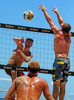 Beach volleyball. ( Mike Stocker, Sun-Sentinel / May 25, 2012 )