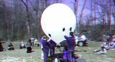 Helium balloon launch