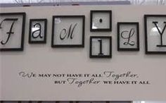 craft picture frame vinyl signs - Bing Images