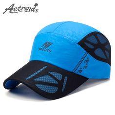 AETRENDS  2017 Summer Baseball Cap Men Breathable Quick-Drying Mesh Hats  Women Sunshade Caps Z-5075 a169703f4a46