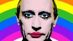 It's now illegal in Russia to share an image of Putin as a possibly gay clown