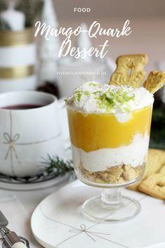 In zwei Tagen ist schon Weihnachten und dieses Jahr wurde mir die Aufgabe des Desserts übertragen. Also saß ich heute den ganzen Tag da und habe mir den Kopf zerbrochen, welches Dessert es and Heilig Abend den geben sollte. Schlussendlich bin ich bei einem Mango-Quark Dessert mit Spekulatius gelandet, das sehr lecker und fruchtig ist. Mir hat der Probelauf sehr gut geschmeckt, daher gibt es das Rezept auch gleich für euch Mango Desserts, Lifestyle Blog, Deserts, Pudding, Yummy Food, Recipes, Eat Lunch, Food Dinners, Food And Drinks