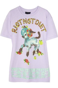 RIOT NOT DIET T-shirt by Meadham Kirchhoff.