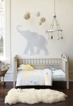 Clouds & Stars room by #hannahome | #sunnydaygiveaway