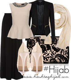 Hashtag Hijab Outfit #i don't know