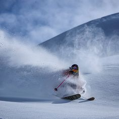 @myshellparker slashing the #haines powder this afternoon with @msp_films