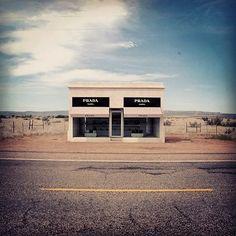 Elmgreen and Dragset - Prada Marfa (2005) | Texas #aheadofitstime #Prada #PradaMarfa #fashion #fashionista #style #stylish #designer #Italy #Italian #ootd #outfitoftheday #architecture #architecturelovers #street #art #arts #artlovers #artoftheday #bestoftheday #photooftheday #picoftheday #like #instalike #tagsforlikes #follow #followme #instafollow #igers #instagramers