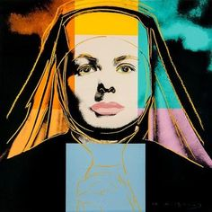 Ingrid Bergamn: The Nun by Andy Warhol, 1983 | artspace.com