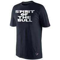 NEW ARRIVAL: The Spirit of the Bull is strong with this one. Check out the Nike Houston Texans Local Premium t-shirt!