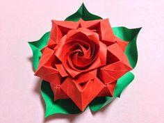 Beautiful Rose  - Designed and Folded by Masahiro Ichikawa