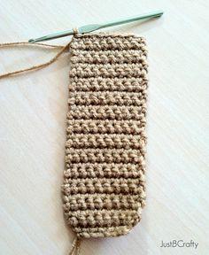 Crochet Sole Pattern Crochet Tribal Moccasin Tutorial Just Be Crafty # Crochet Sole, Easy Crochet Slippers, Crochet Waffle Stitch, Crochet Slipper Pattern, Knit Crochet, Crochet Granny, Free Crochet, Loom Knitting Patterns, Easy Crochet Patterns