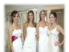 Our Models from the Redlands Bridal Fashion Show