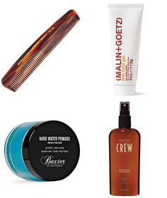 Men's Recommended Hair Styling Products - Side Parting