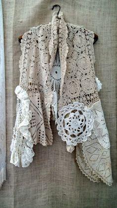 Vintage Doily Vest