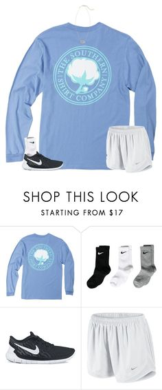 """""""Want these shorts"""" by disneyfashionedits ❤ liked on Polyvore featuring NIKE and Kendra Scott"""