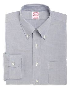 Classic All-Cotton Traditional Fit Button-Down Oxford Dress Shirt - Brooks Brothers