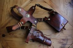 CUSTOM Uncharted 3 Replica Leather Shoulder by Increditastic