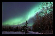 Foto: Aurora borealis boven Alaska | Alaska Dispatch