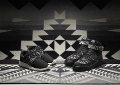 PENDLETON × NIKE 2013 HOLIDAY N7 SNEAKER COLLECTION #sneaker