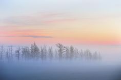Sunrise blues ... near Calgary, AB, Canada | by victor Liu on 500px