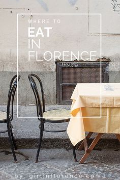 Florence restaurant guide