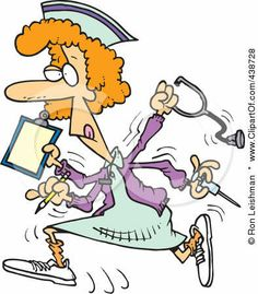 Happy Nurses Week Clip Art | ... Clip-Art-Illustration-Of-A-Cartoon-Multitasking-Nurse.jpgViews