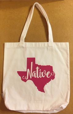 Tote Bag / Tote Bags / Tote / Totes / Texas by HodgepodgeCraftsRS