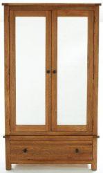 Yoke Oak Large Mirrored 2 door wardrobe http://solidwoodfurniture.co/product-details-oak-furnitures-2607-yoke-oak-large-mirrored-door-wardrobe.html