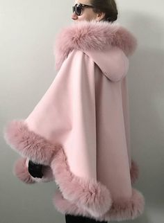 Your place to buy and sell all things handmade Warm Outfits, Cool Outfits, Fashion Outfits, Sporty Fashion, Ski Fashion, Steampunk Fashion, Gothic Fashion, Winter Fashion, Fur Trimmed Cape