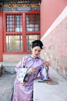 Chinese Style, Chinese Art, Japanese Calligraphy, Thing 1, Chinese Clothing, Desert Rose, Qing Dynasty, Chinese Painting, Animal Tattoos
