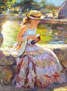"""Sunday in the Park"" by Vladimir Volegov"