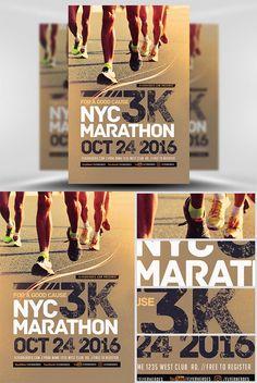 Flyer Template - 3K Marathon