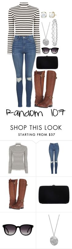 """""""Random 107"""" by megan-walz21 ❤ liked on Polyvore featuring Oasis, Topshop, Naturalizer, Sergio Rossi, Fendi, Karen Kane, Epoque and Irene Neuwirth"""