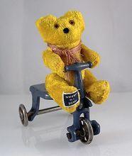 Mini Dimestore Stuffed, Jointed, Mohair Teddy Bear