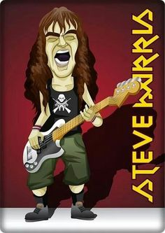 Iron Maiden Live, Iron Maiden T Shirt, Iron Maiden Band, Iron Maiden Posters, Run To The Hills, Eddie The Head, Judas Priest, Z Arts, Heavy Metal Bands