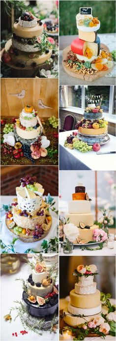 Rustic Wedding Cakes Tend: Cheese Wedding Cakes | http://www.deerpearlflowers.com/rustic-wedding-cakes-tend-cheese-wedding-cakes/