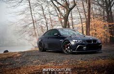 BMW E92 M3 grey on HRE wheels