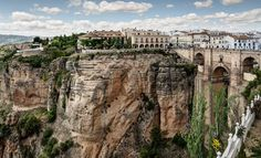 The New Bridge (Puente Nuovo), Ronda. Province of Malaga, Andalusia, Spain