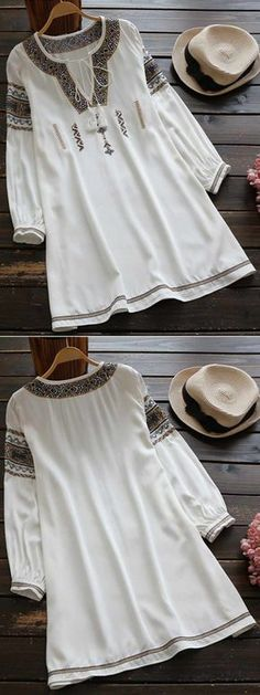 Have fun with this casual fall-time dress with drawstring design at collar. We just love adding more creation. Casual Fall, Casual Wear, Iranian Women Fashion, Womens Fashion, Trendy Dresses, Casual Dresses, Hijab Fashion, Fashion Dresses, Birthday Outfit For Women