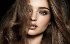 Miranda Kerr Face Wallpaper