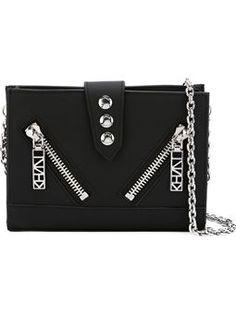 'Kalifornia' chain wallet $380 #farfetch #fashion! #ReviewsClothing