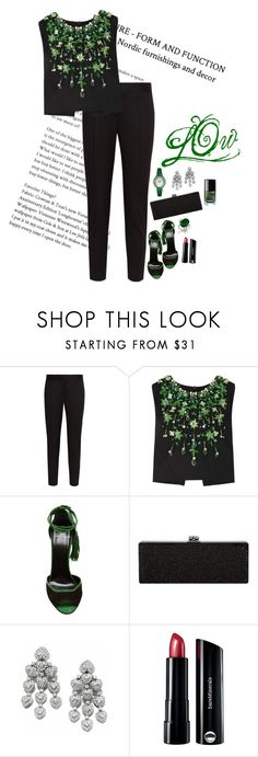"""""""Bird Set Free"""" by saltless ❤ liked on Polyvore featuring STELLA McCARTNEY, Miu Miu, Pierre Hardy, Bare Escentuals and Chanel"""
