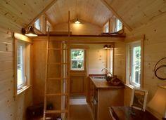 ynez tiny house interior ynez tiny house by the oregon cottage company - Tiny House With Loft