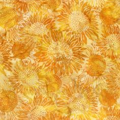 Daffodil (K2551) Hoffman Bali Sunflowers 10.95