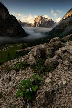Valley Innerfeld  by Herbert Pramstaller - Dolomites, Italy.