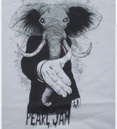 Pearl Jam Europe tour tshirt